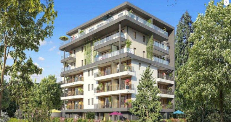 Achat / Vente programme immobilier neuf Collonges-sous-Salève proche écoles et commerces (74160) - Réf. 4722