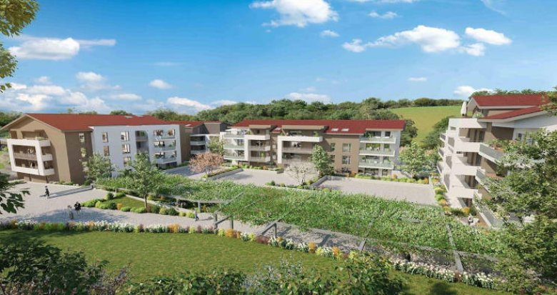 Achat / Vente programme immobilier neuf Cruseilles à deux pas des commodités (74350) - Réf. 4721