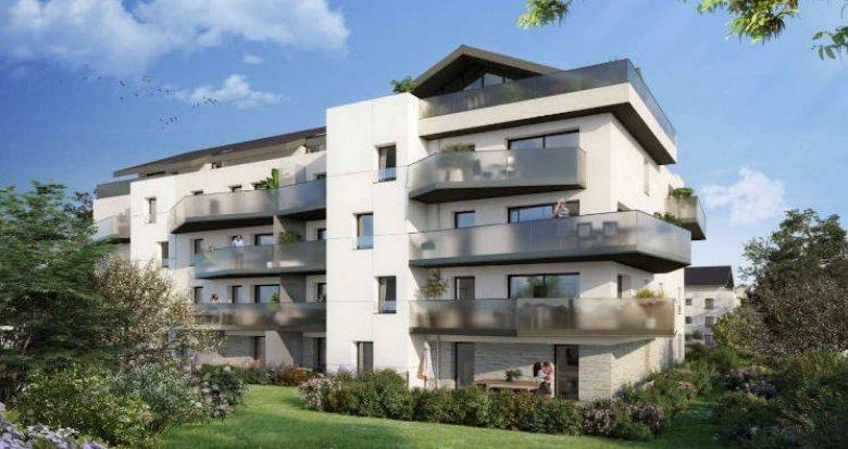 Achat / Vente programme immobilier neuf Divonne-les-Bains à deux pas du bus (01220) - Réf. 4769