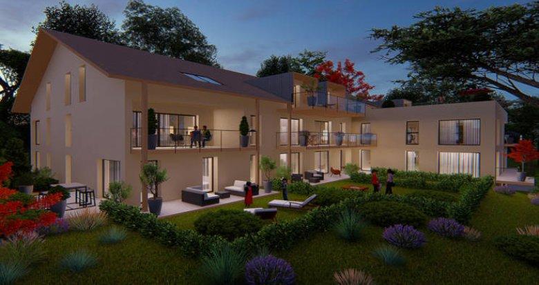 Achat / Vente programme immobilier neuf Divonne-les-Bains proche centre (01220) - Réf. 4418