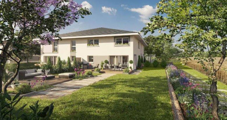 Achat / Vente programme immobilier neuf Douvaine au cœur de la ville proche lac (74140) - Réf. 4494
