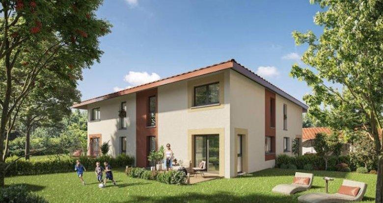 Achat / Vente programme immobilier neuf Douvaine proche du Lac Léman (74140) - Réf. 4396