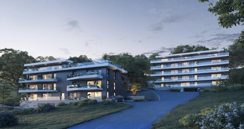 Achat / Vente programme immobilier neuf Evian-les-Bains proche du lac Léman (74500) - Réf. 5455