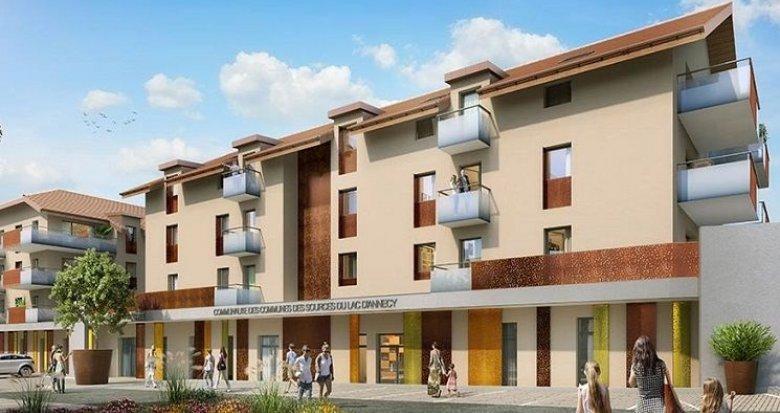 Achat / Vente programme immobilier neuf Faverges 12 minutes d'Annecy (74210) - Réf. 1793