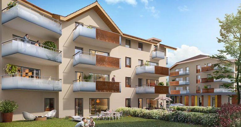 Achat / Vente programme immobilier neuf Faverges Seythenex (74210) - Réf. 839