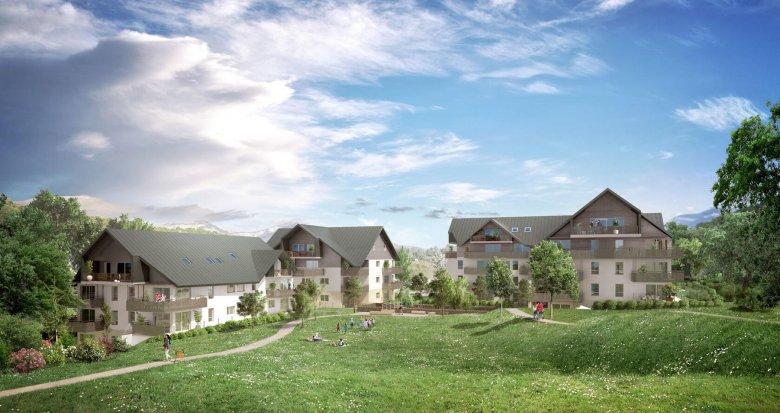 Achat / Vente programme immobilier neuf Jacob-Bellecombette au coeur d'un parc arboré (73000) - Réf. 4175