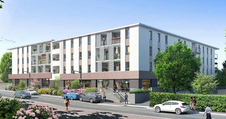 Achat / Vente programme immobilier neuf Jassans-Riottier bord de Saône (01480) - Réf. 214