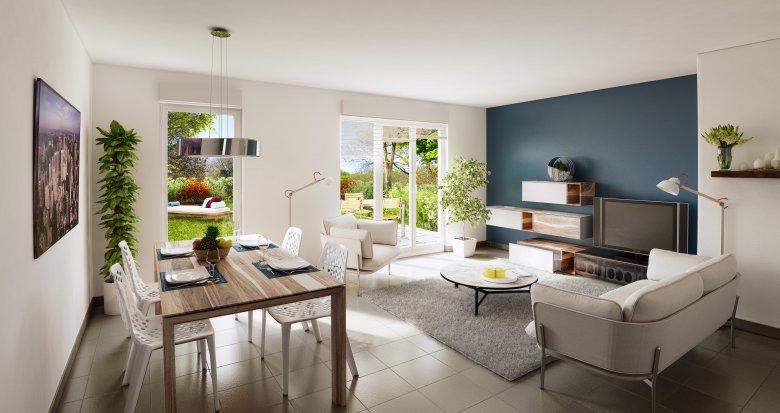 Achat / Vente programme immobilier neuf La Biolle proche Aix-Les-Bains (73410) - Réf. 630