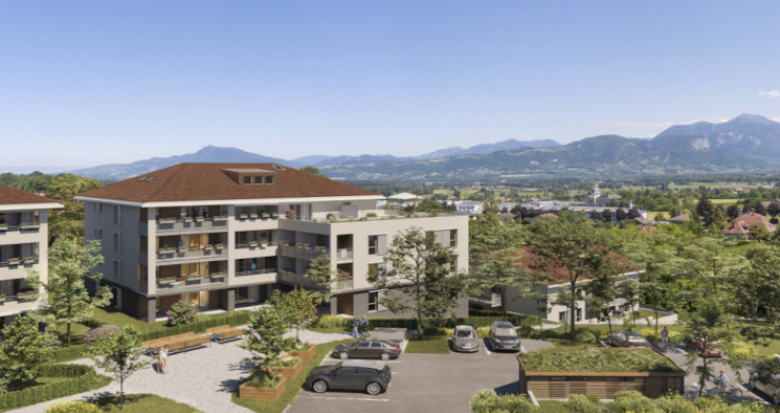 Achat / Vente programme immobilier neuf La Roche-sur-Foron au cœur des montagnes de Haute-Savoie (74800) - Réf. 5388