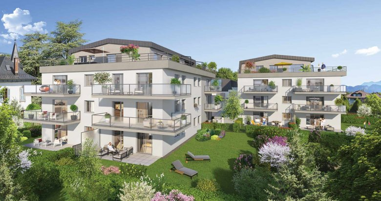 Achat / Vente programme immobilier neuf la Roche sur Foron en lisière du centre-ville (74800) - Réf. 2671