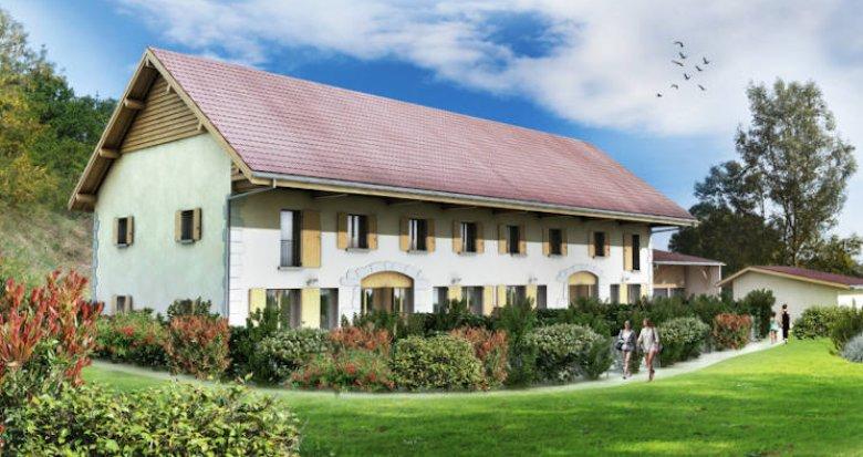 Achat / Vente programme immobilier neuf Lovagny à deux pas du château de Montrottier (74330) - Réf. 3797