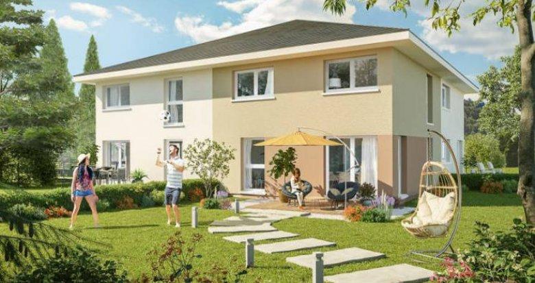 Achat / Vente programme immobilier neuf Marcellaz-en-Faucigny proche commodités (74250) - Réf. 4419
