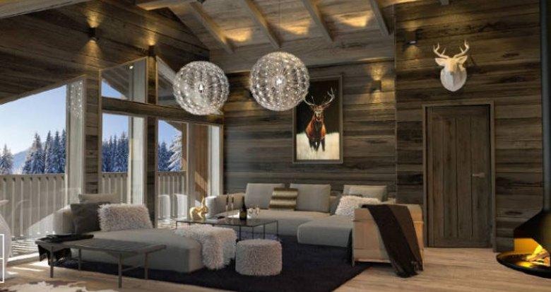 Achat / Vente programme immobilier neuf Megève au cœur des montagnes savoyardes (74120) - Réf. 4416