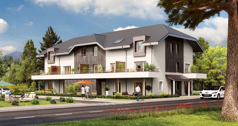 Achat / Vente programme immobilier neuf Mercury proche Mairie (73200) - Réf. 169
