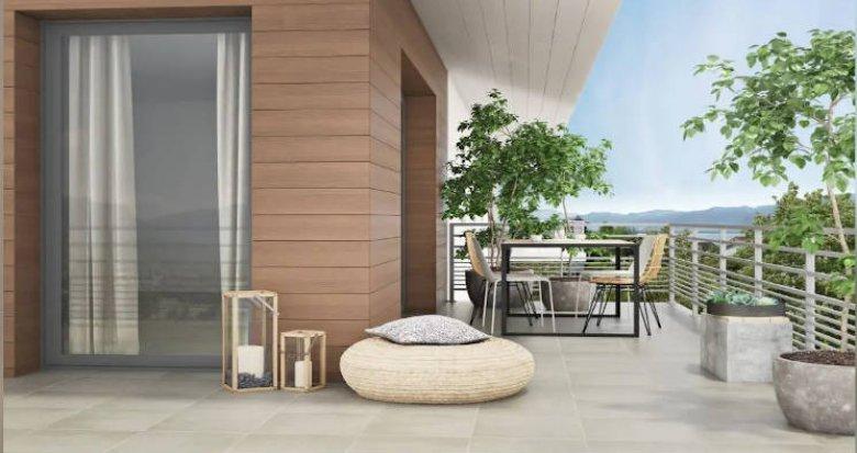 Achat / Vente programme immobilier neuf Messery à proximité des commodités (74140) - Réf. 4785