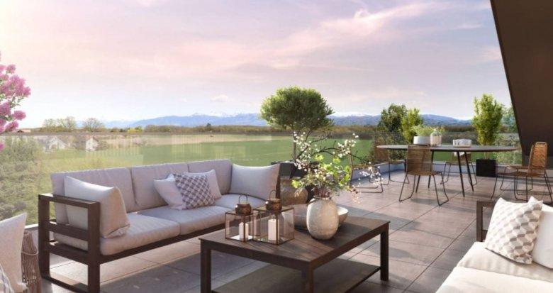 Achat / Vente programme immobilier neuf Messery proche du lac (74140) - Réf. 6075
