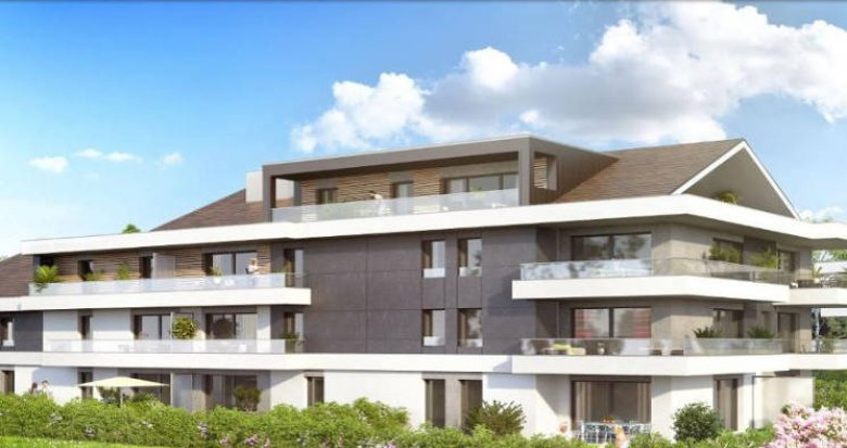 Achat / Vente programme immobilier neuf Messery proche Lac Léman (74140) - Réf. 2926