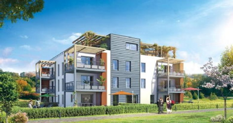 Achat / Vente programme immobilier neuf Metz-Tessy coeur de village (74370) - Réf. 1127