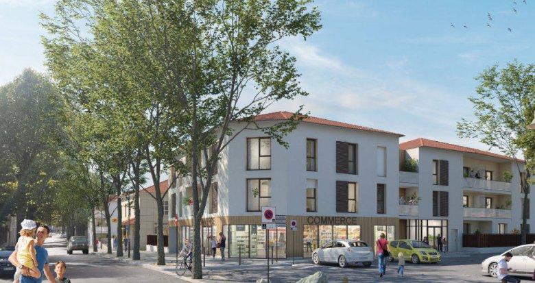Achat / Vente programme immobilier neuf Montluel à deux pas de la gare (01120) - Réf. 6149