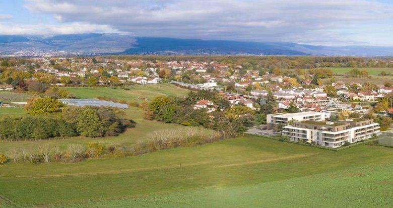 Achat / Vente programme immobilier neuf Ornex à 15 min de Genève (01210) - Réf. 5867