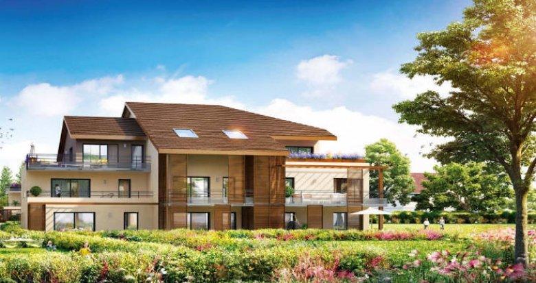 Achat / Vente programme immobilier neuf Ornex à deux pas du centre (01210) - Réf. 5115