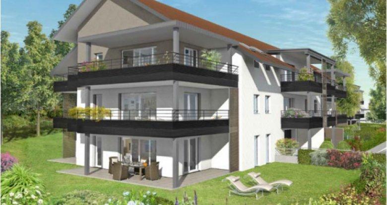 Achat / Vente programme immobilier neuf Panorama sur le Mont Blanc (01710) - Réf. 368