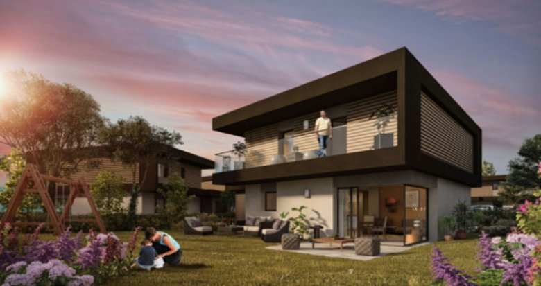 Achat / Vente programme immobilier neuf Perrignier entre lac et montagne (74550) - Réf. 4412