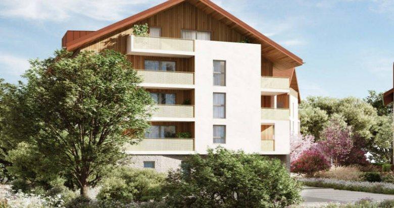 Achat / Vente programme immobilier neuf Poisy environnement paisible et naturel (74330) - Réf. 5233