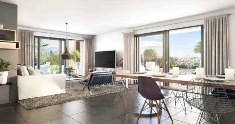 Achat / Vente programme immobilier neuf Pringy hameau de Promery (74370) - Réf. 2971