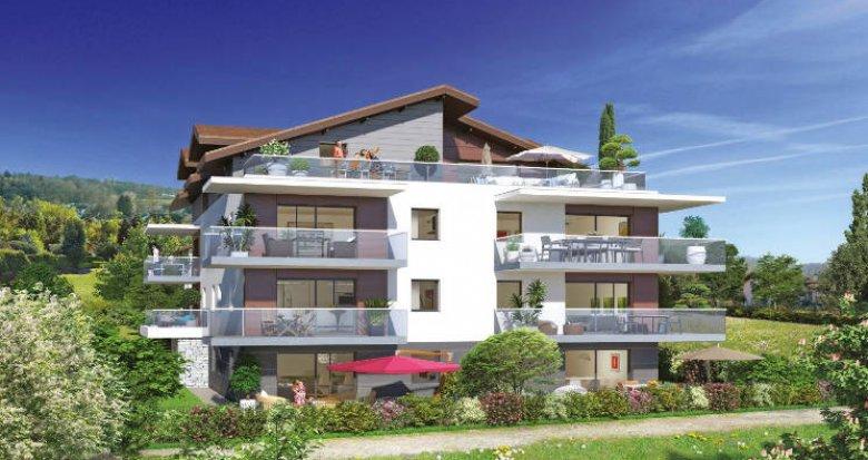 Achat / Vente programme immobilier neuf Publier à 10 minutes du centre-village (74500) - Réf. 3737