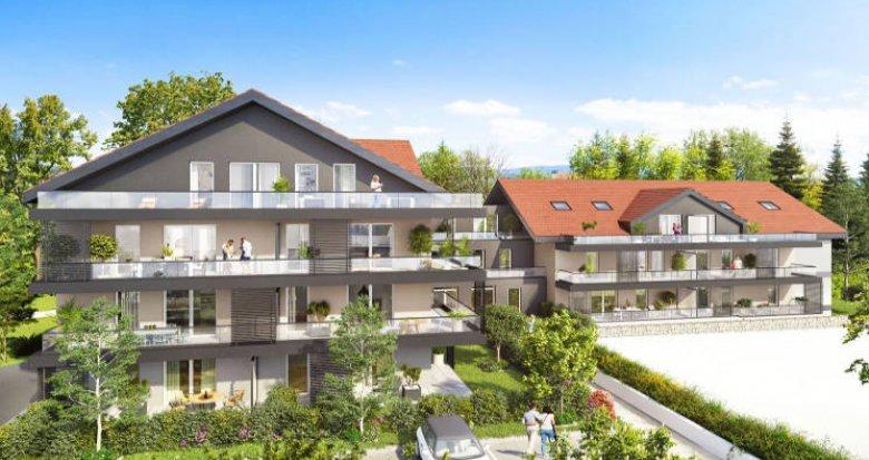 Achat / Vente programme immobilier neuf Rumilly à deux pas du centre (74150) - Réf. 4209