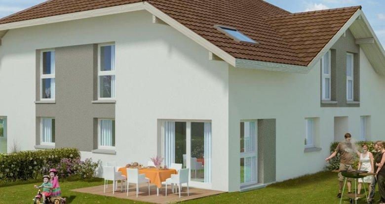 Achat / Vente programme immobilier neuf Saint-Blaise à flanc de Salève (74350) - Réf. 130