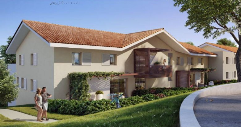 Achat / Vente programme immobilier neuf Saint-Cergues proche centre-ville (74140) - Réf. 4520