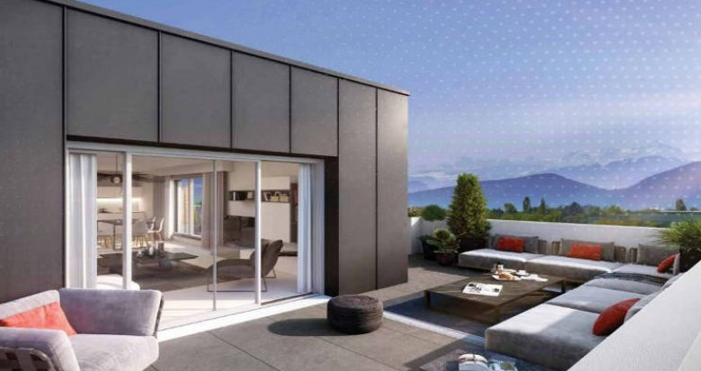 Achat / Vente programme immobilier neuf Saint-Genis-Pouilly proche bassin genevois (01630) - Réf. 4805