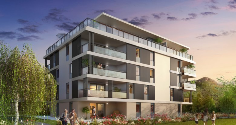 Achat / Vente programme immobilier neuf Saint-Jorioz à 15 minutes d'Annecy (74410) - Réf. 4522