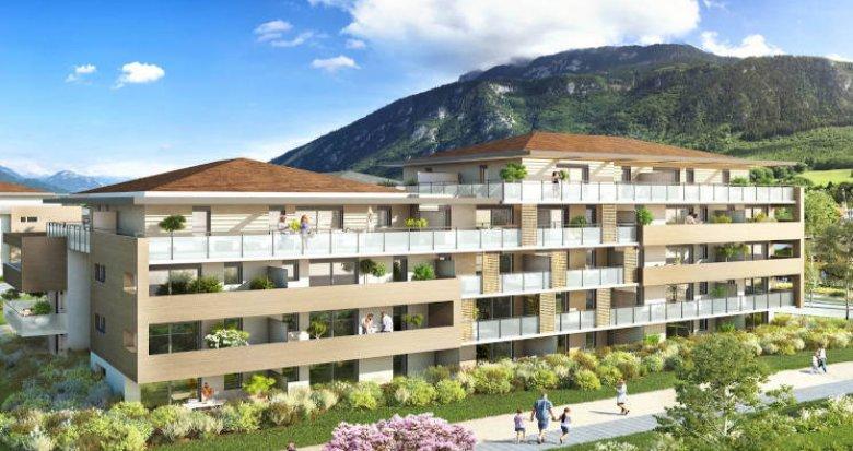 Achat / Vente programme immobilier neuf Saint-Pierre-en-Faucigny au pied des bus (74800) - Réf. 4706