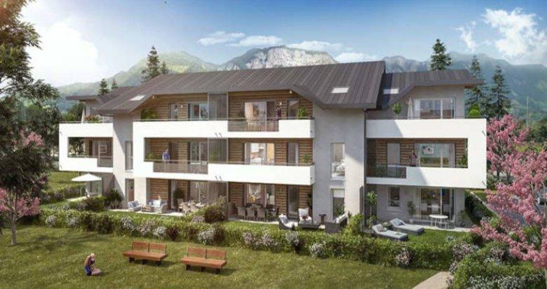 Achat / Vente programme immobilier neuf Saint-Pierre-en-Faucigny proche complexe sportif (74800) - Réf. 3167