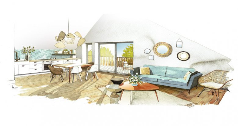 Achat / Vente programme immobilier neuf Sales en plein centre du village (74150) - Réf. 5247