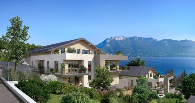 Achat / Vente programme immobilier neuf Sevrier proche du lac d'Annecy (74320) - Réf. 627