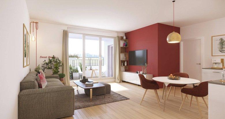 Achat / Vente programme immobilier neuf Thonon-les-Bain proche centre secteur résidentiel (74200) - Réf. 6170