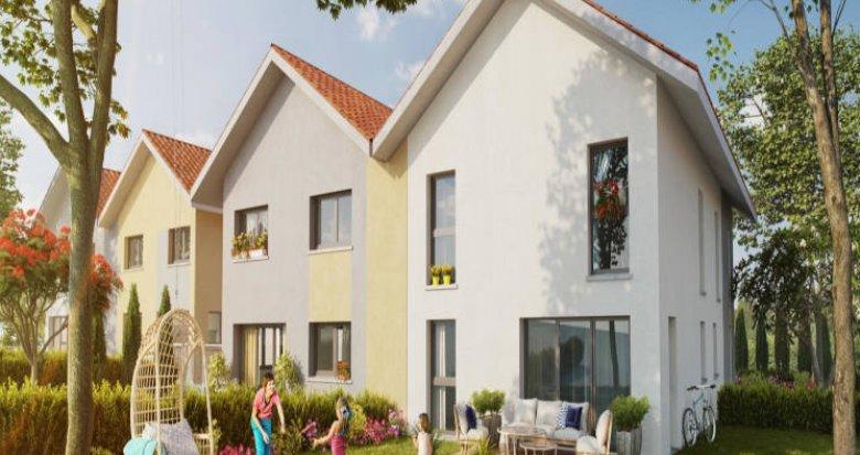 Achat / Vente programme immobilier neuf Valleiry au coeur du village (74520) - Réf. 2908