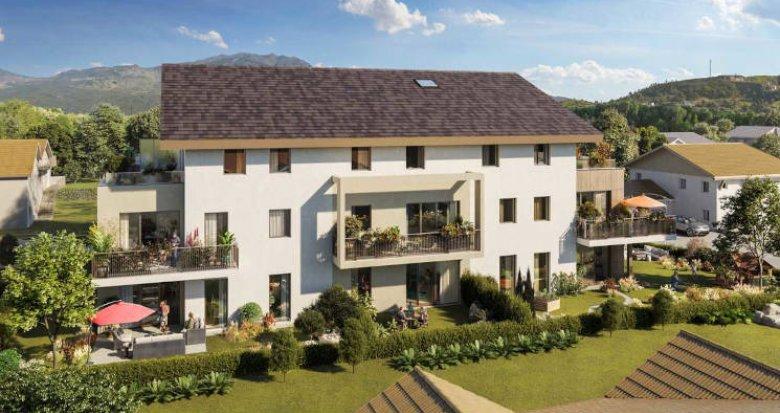 Achat / Vente programme immobilier neuf Veigy-Foncenex à deux pas de la frontière Suisse (74140) - Réf. 5993
