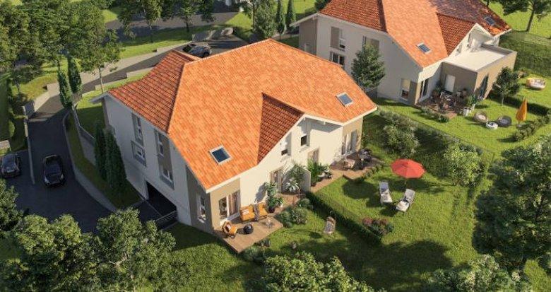 Achat / Vente programme immobilier neuf Vétraz-Monthoux à 450 de l'école Petit Prince (74100) - Réf. 4423
