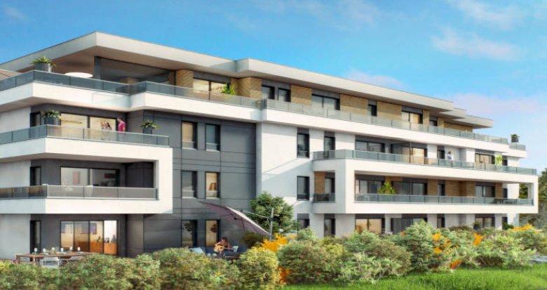 Achat / Vente programme immobilier neuf Vétraz-Monthoux proche frontière suisse (74100) - Réf. 4096
