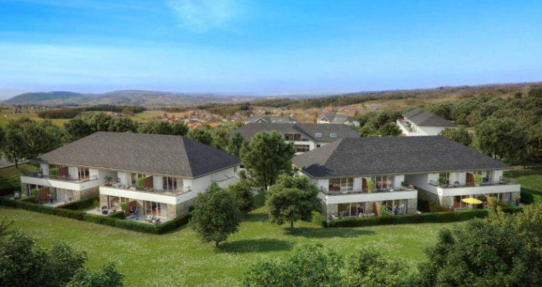 Achat / Vente programme immobilier neuf Viuz-la-Chiésaz à 400 m du coeur de village (74540) - Réf. 5634