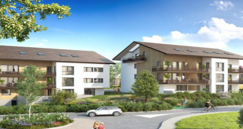 Achat / Vente programme immobilier neuf Vulbens au cœur du bassin genevois (74520) - Réf. 5010